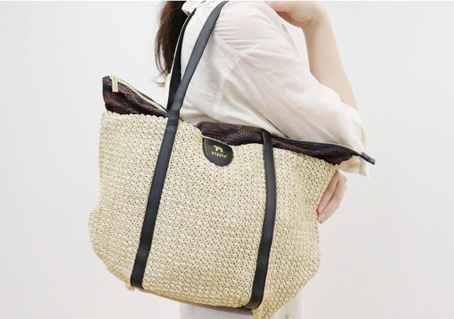 宝島社の雑誌付録kippis(R) zip-up basket bag BOOKのレビュー