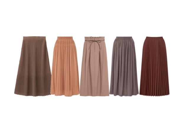 GU ユニクロ スカート