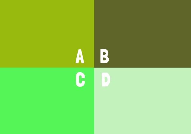 心理テスト 緑 カラー 画像
