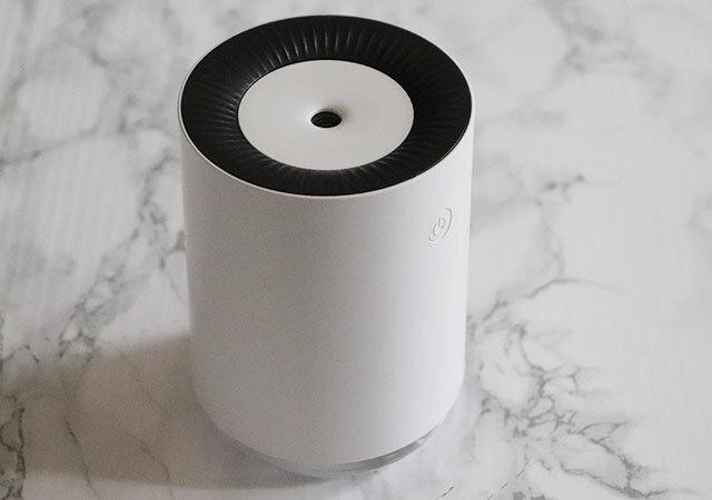 ダイソー 加湿器 500円 円柱