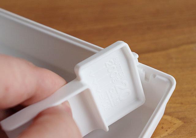 ダイソー バターケース 軽量パーツ