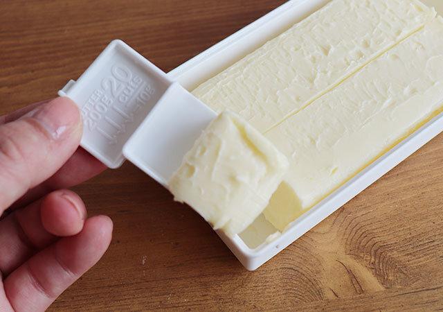 ダイソー バターケース バターカッター 軽量 使用感