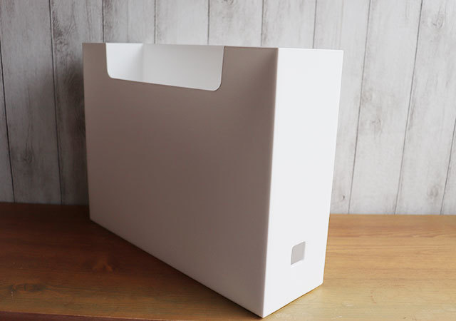 ダイソー 300円商品 ファイルボックス 小窓
