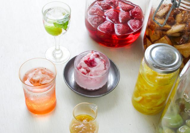 ジュース お酒 デザート フルーツシロップ