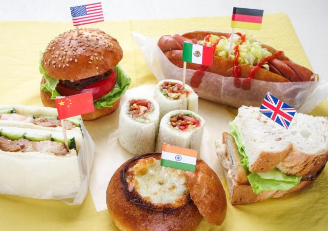 サンドイッチ パン
