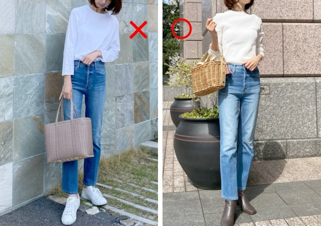 MOTHER The Tripper Ankle Denim Pants NG・OKコーデ