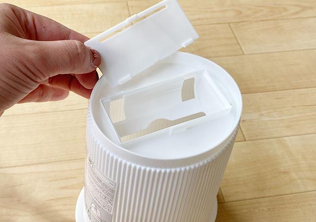 ダイソー ロールゴミ袋用ゴミ箱(丸型)