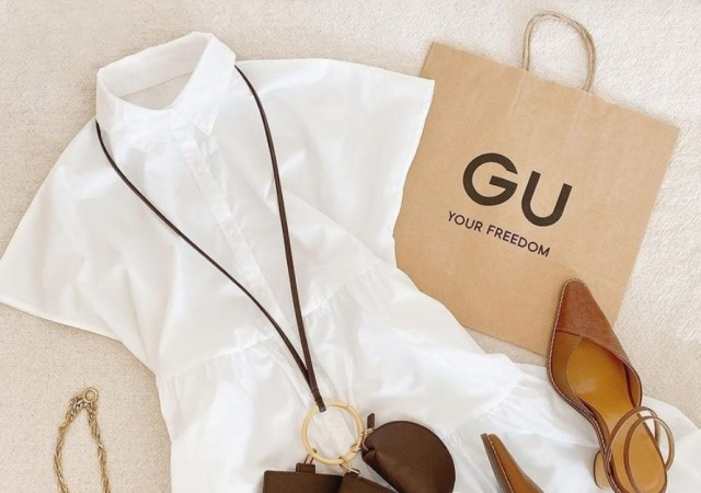 GU ワンピース 画像
