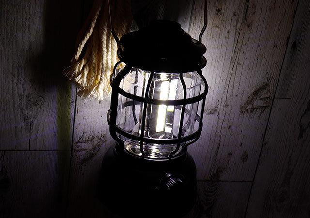 タグ ランタン ダイソー ライト 明かり 使用例