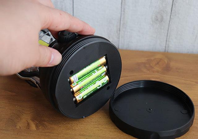タグ ランタン ダイソー 電池ポケット