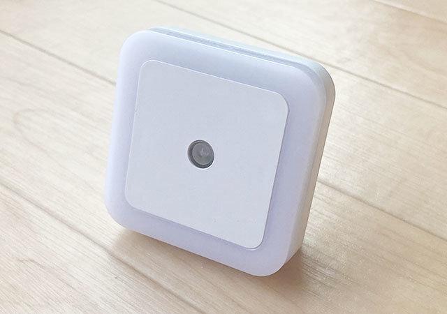 ダイソー 100均 お得アイテム LED明暗センサー付き ナイトライト 昼白色(室内用)