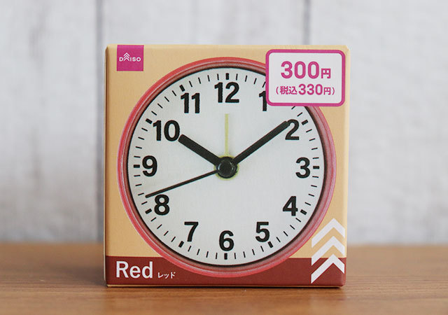 時計 ダイソー 表