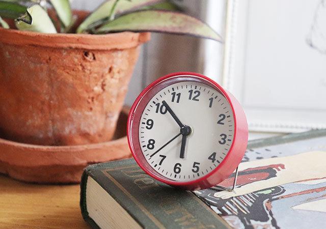 時計 ダイソー 正面 使用例