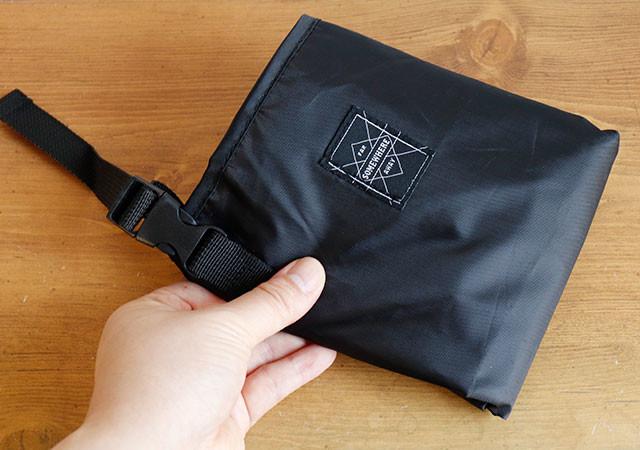 ダイソー 荷物収納用ハンモック型バッグ