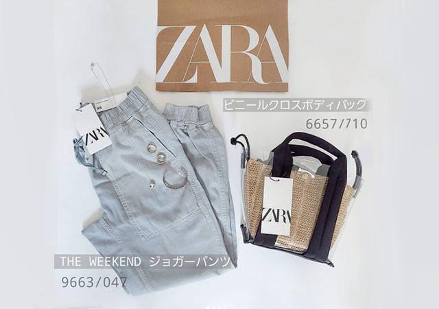 ZARA アイテム 画像