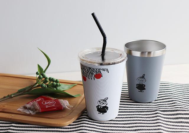 MOOMIN CUP COFFEE TUMBLER BOOK リトルミイとニョロニョロ ver ムック 付録 タンブラー