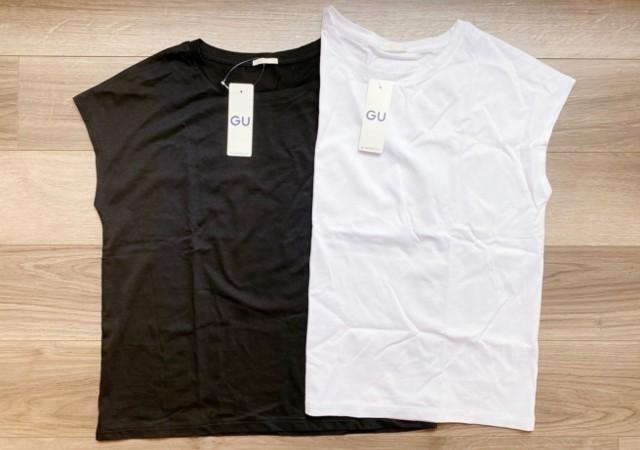 GU ジーユー マーセライズドT Tシャツ