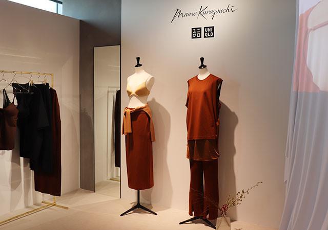 ユニクロ マメクロゴウチ コラボ 展示会 Uniqlo and Mame Kurogouchi