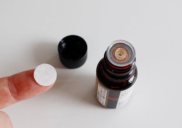 ダイソー 人気商品 マスクに貼る アロマ用シール 使用方法 アロマ