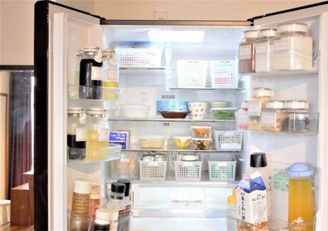 冷蔵庫 中身 画像