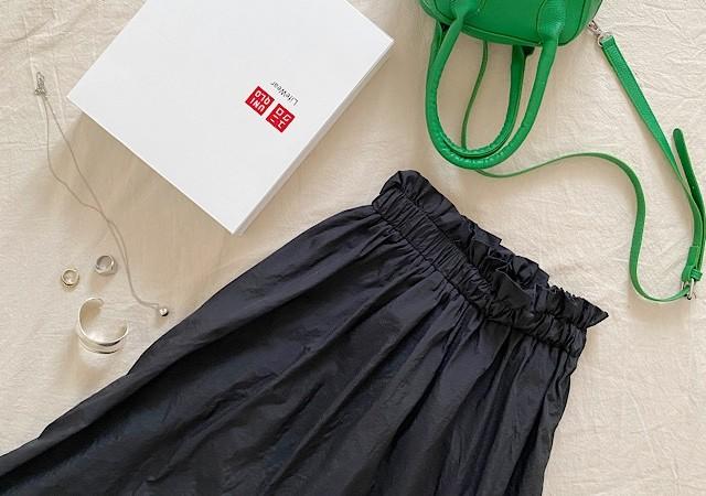 LavishGate フレアマキシスカート