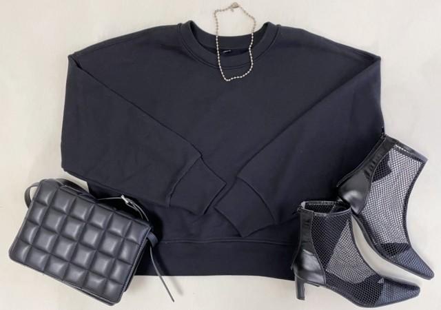 UNIQLO ユニクロ リラックススウェットシャツ(長袖) トップス
