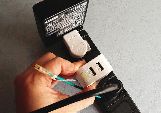 ダイソー 110円(税込) プチストレス解消アイテム 横プラグ(L型)L665 使用感