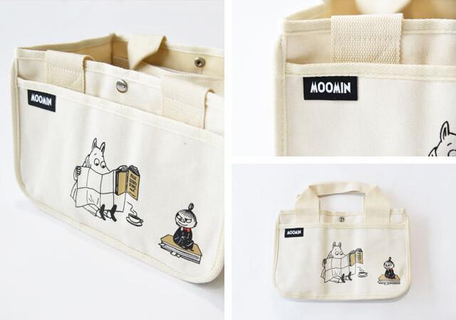雑誌付録 ムック本 MOOMIN どこでも使える収納トートバッグ BOOK